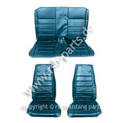 Sitzbezugsatz Standard, 71-73 Fastback, Blau (Blue)
