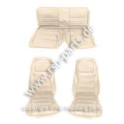 Sitzbezugsatz Standard, 70 Fastback, Weiß (White)