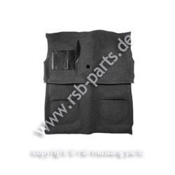 Teppich 69-70 Coupe+Fastback schwarz