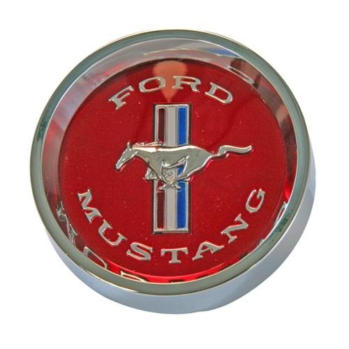 Nabenkappe, 65-66, mit rotem Emblem