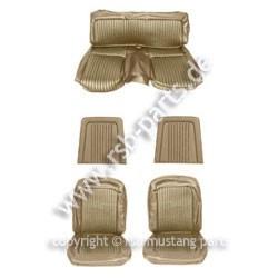 Sitzbezugsatz Standard, 68 Fastback, Goldfarben (Nugget Gold)