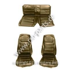 Sitzbezugsatz Standard, 70 Fastback, Efeufarben (Ivy)