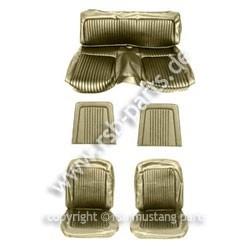 Sitzbezugsatz Standard, 68 Fastback, Efeu-Gold (Ivy Gold)