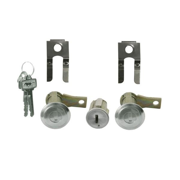 Zünd und Türschloß mit Pony-Schlüssel, 65-66
