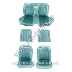 Sitzbezugsatz Standard, 68 Cabriolet, Türkis (Aqua)
