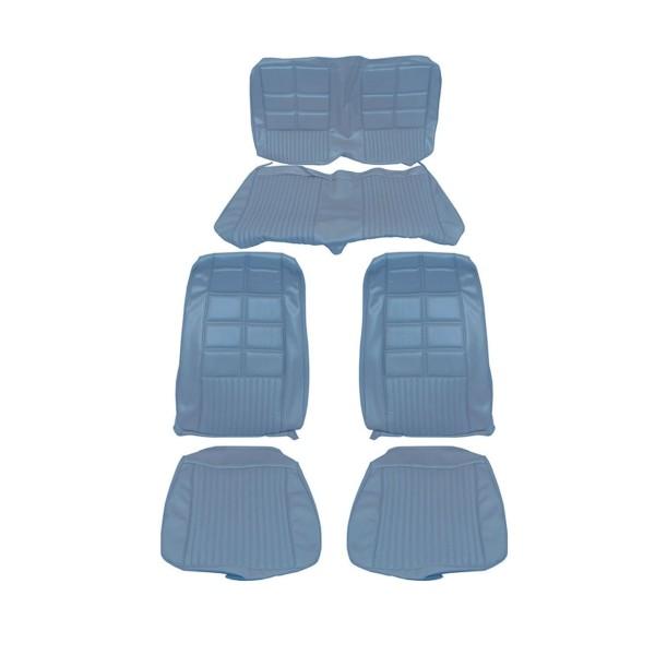 Sitzbezugsatz Deluxe, 70 Cabriolet, Blau (Blue)