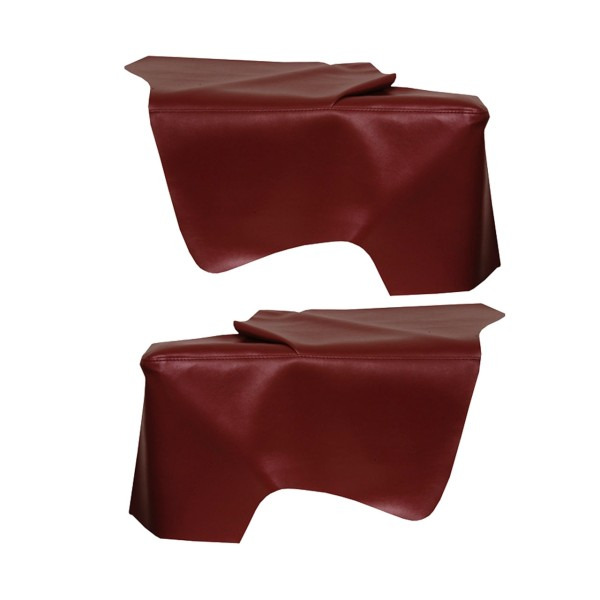 Bezug Seitenwandverkleidung, Cabrio, 66-67, dunkelrot