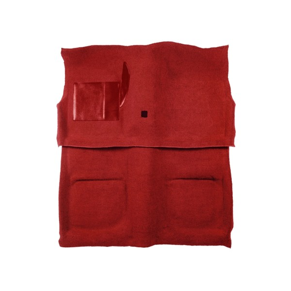 Teppich 65-68 Coupe rot