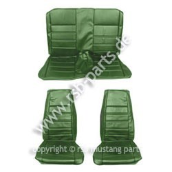 Sitzbezugsatz Standard, 71-73 Fastback, Grün (Green)
