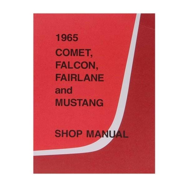 """Buch """"Shop Manual"""" - Werkstatthandbuch, 65"""