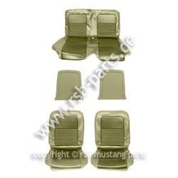 Sitzbezugsatz Standard, 67 Coupe, Efeu-Gold (Ivy Gold)