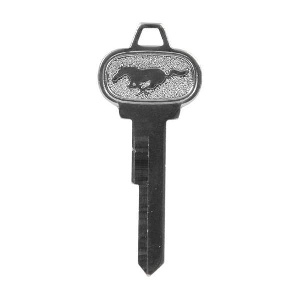 Schlüsselrohling mit Pony Logo für Kofferdeckel, 65-66