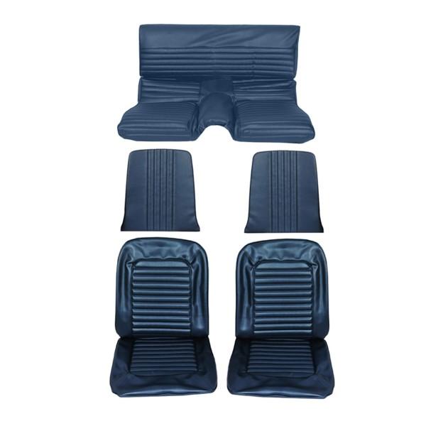 Sitzbezugsatz Standard, 65 Fastback, Blau (Blue)