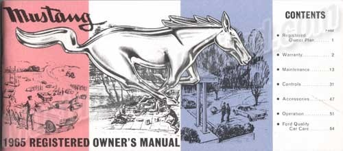 Buch Owner Manual 65
