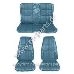 Sitzbezugsatz Deluxe, 71-73 Coupe, Blau (Blue)