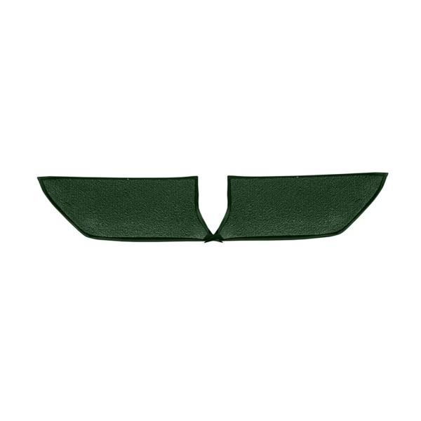 Teppichbezug Fußraum, Cabrio, dunkelgrün