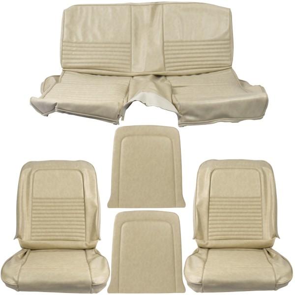 Sitzbezugsatz Standard, 68 Fastback, Beige (Parchment)