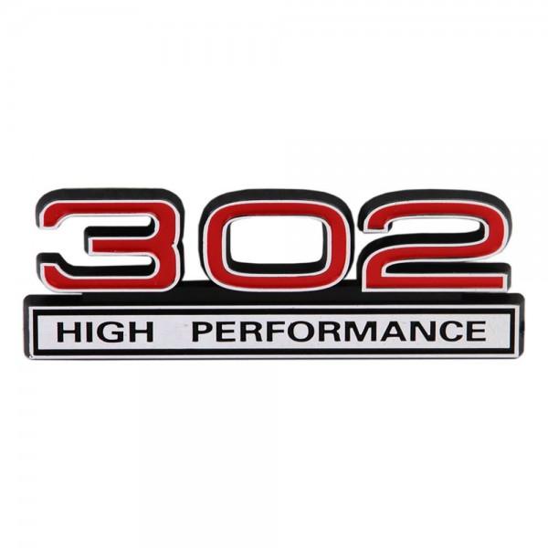 "Emblem ""302 High Performance"", Rot"