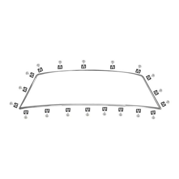 Zierleistensatz Heckscheibe, 65-66, Coupe