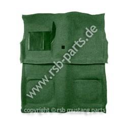Teppich 69-70 Cabrio dunkelgrün