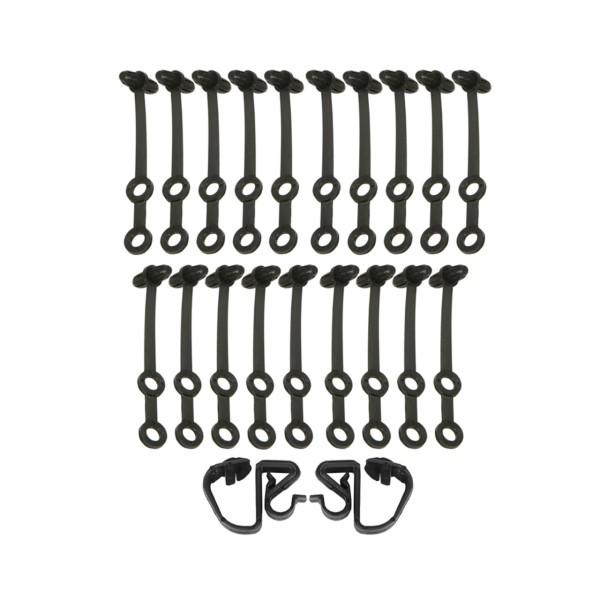 Clip-Satz für Kabelbaum im Motorraum, 65-66