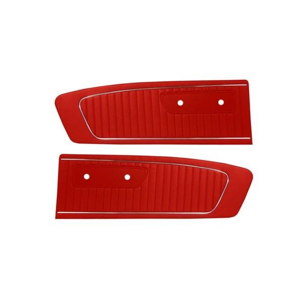 Türverkleidungen Standard 65, rot