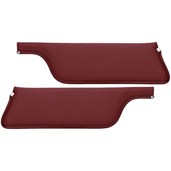 Sonnenblende, Coupe & Fastback 67-68 rotbraun