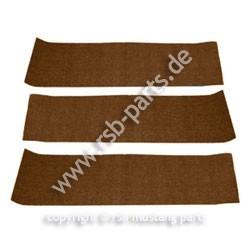 Teppich hinten 69-70 dunkelbraun
