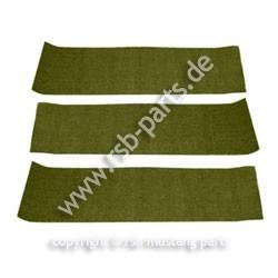 Teppich hinten 69-70 olivgrün