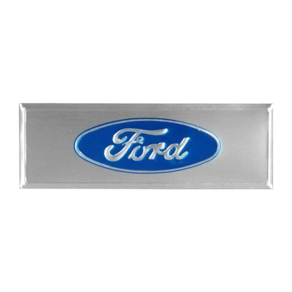 """Emblem für Türeinstiegsleiste """"Ford"""", 67-73, Blau"""