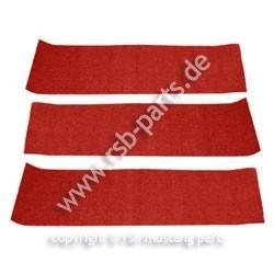 Teppich hinten 69-70 Fastback rot