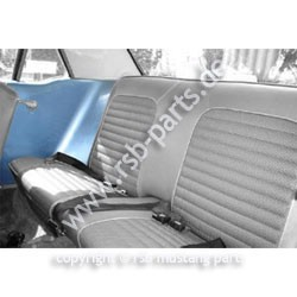 Bezug Seitenwandverkleidung, Coupe, 65-68, hell-blau