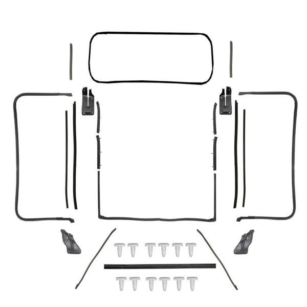 Dichtungsset Karosserie für 71-73 Cabrio