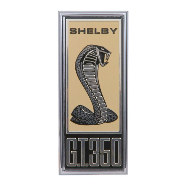 "Kotflügelemblem, 67, ""Shelby GT-350"""