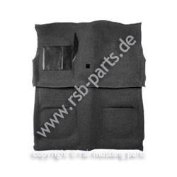 Teppich, 71-73, Cabriolet, schwarz