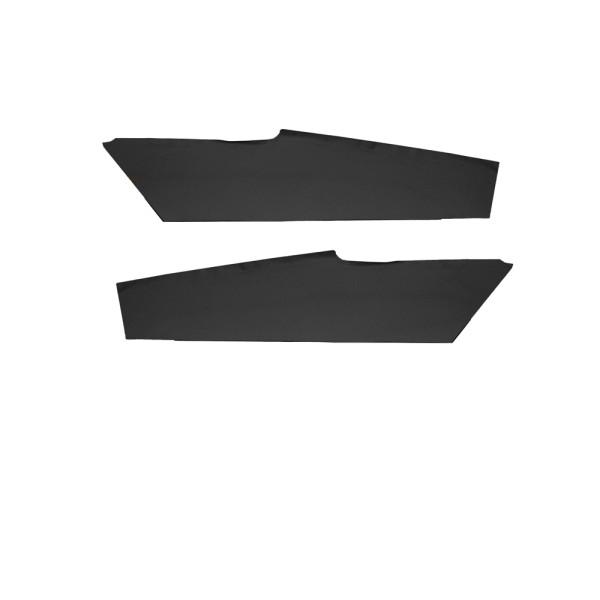 Verkleidung Innenhimmel-Dachabschluß, 71-73, Fastback, Paar, schwarz