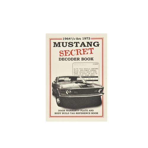 Buch Mustang VIN Decoder