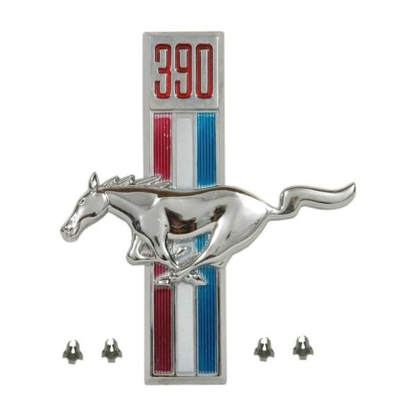 Kotflügel-Emblem, LH, 390, 67-68
