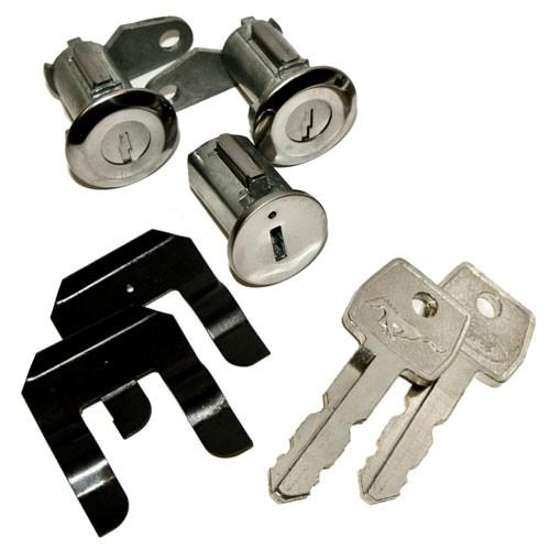 Zünd und Türschloß mit Pony-Schlüssel, 67-69