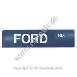 Straßenschild Ford