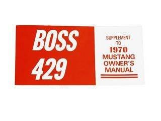 Buch Owner Manual 70 Boss