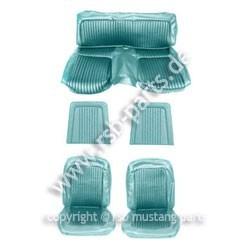 Sitzbezugsatz Standard, 68 Fastback, Türkis (Aqua)