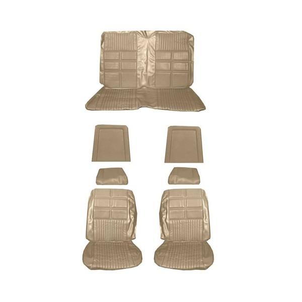 Sitzbezugsatz Deluxe, 69 Cabriolet, Hellgold (Nugget Gold)