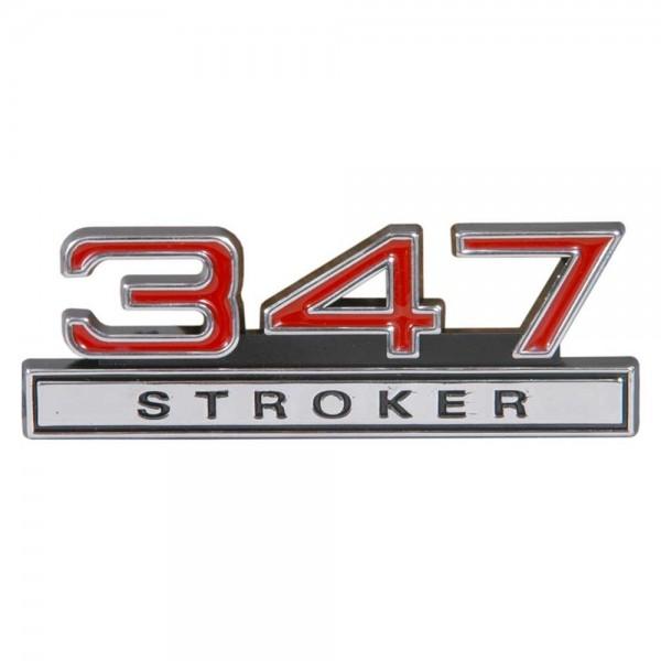 """Emblem """"347 Stroker"""", Rot"""