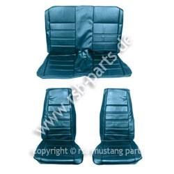 Sitzbezugsatz Standard, 71-73 Coupe, Blau (Blue)