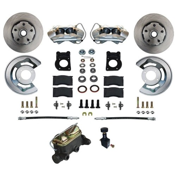 Bausatz Scheibenbremse, V8, 67-69, 4-Kolben, Premium