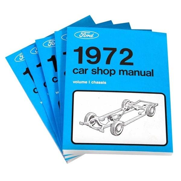 """Buch """"Shop Manual"""" - Werkstatthandbuch, 72"""