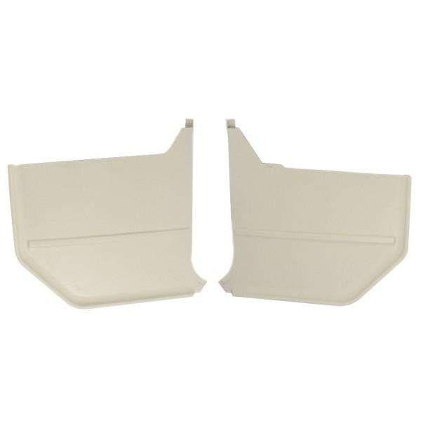 Verkleidung Fußraum 65-66 Cabrio weiß