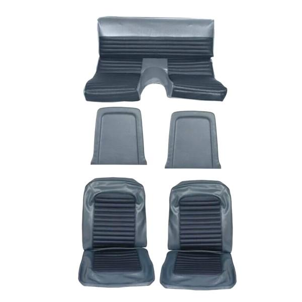 Sitzbezugsatz Standard, 66 Fastback, Blau (Blue)