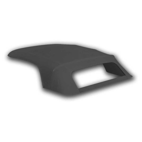 Verdeck mit Plastik-Scheibe, 67-68, schwarz